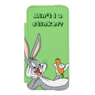 BUGS BUNNY™ Lying Down Eating Carrot Incipio Watson™ iPhone 5 Wallet Case