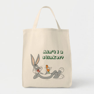 BUGS BUNNY™ Lying Down Eating Carrot Tote Bag