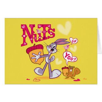 Bugs Bunny | Nuts For You Card
