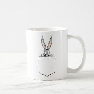 BUGS BUNNY™ Peeking Out Of Pocket Coffee Mug