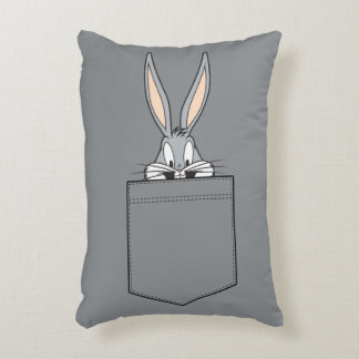 BUGS BUNNY™ Peeking Out Of Pocket Decorative Cushion