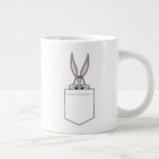 BUGS BUNNY™ Peeking Out Of Pocket Large Coffee Mug