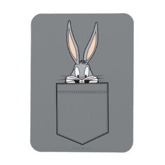 BUGS BUNNY™ Peeking Out Of Pocket Magnet