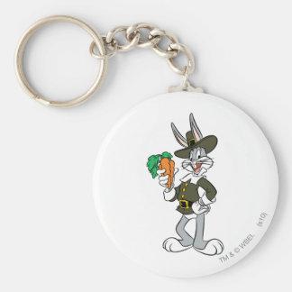 BUGS BUNNY™ Pilgrim Thanksgiving Key Ring