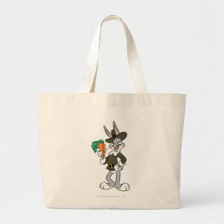 BUGS BUNNY™ Pilgrim Thanksgiving Large Tote Bag