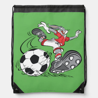 BUGS BUNNY™ Playing Soccer Drawstring Bag