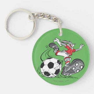 BUGS BUNNY™ Playing Soccer Key Ring