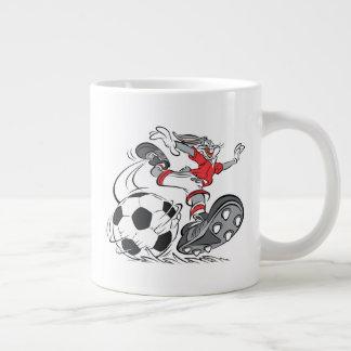 BUGS BUNNY™ Playing Soccer Large Coffee Mug