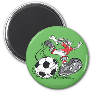 BUGS BUNNY™ Playing Soccer Magnet