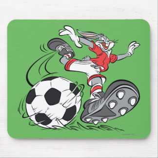 BUGS BUNNY™ Playing Soccer Mouse Pad