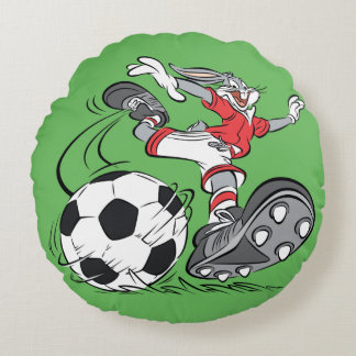 BUGS BUNNY™ Playing Soccer Round Cushion