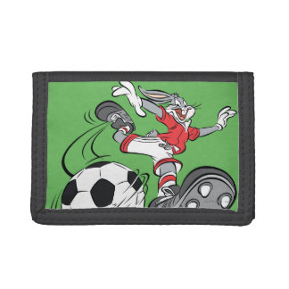 BUGS BUNNY™ Playing Soccer Trifold Wallets