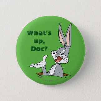 BUGS BUNNY™ Rabbit Hole 6 Cm Round Badge