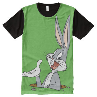 BUGS BUNNY™ Rabbit Hole All-Over Print T-Shirt