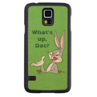 BUGS BUNNY™ Rabbit Hole Carved Maple Galaxy S5 Case