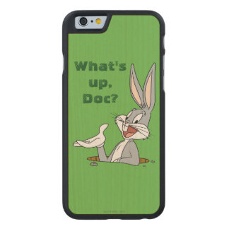 BUGS BUNNY™ Rabbit Hole Carved Maple iPhone 6 Case