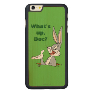 BUGS BUNNY™ Rabbit Hole Carved Maple iPhone 6 Plus Case