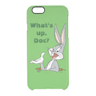 BUGS BUNNY™ Rabbit Hole Clear iPhone 6/6S Case