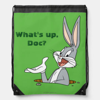 BUGS BUNNY™ Rabbit Hole Drawstring Bag