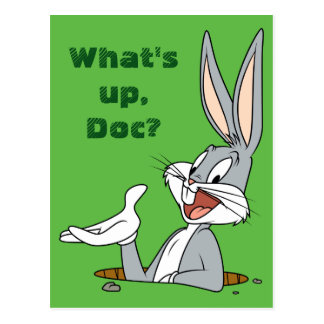 BUGS BUNNY™ Rabbit Hole Postcard