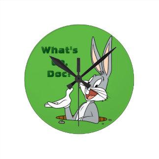 BUGS BUNNY™ Rabbit Hole Round Clock