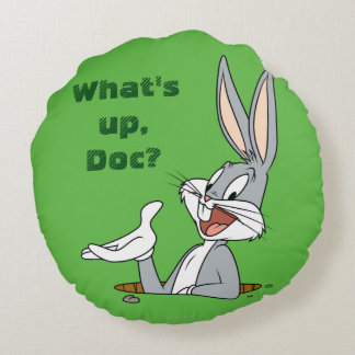 BUGS BUNNY™ Rabbit Hole Round Cushion