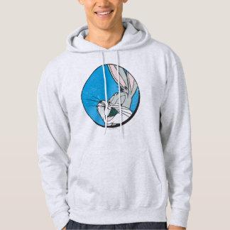 BUGS BUNNY™ Retro Blue Patch Hoodie