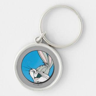 BUGS BUNNY™ Retro Blue Patch Key Ring
