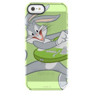 BUGS BUNNY™ Rocking On Guitar Clear iPhone SE/5/5s Case