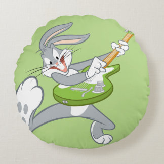 BUGS BUNNY™ Rocking On Guitar Round Cushion