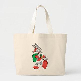 BUGS BUNNY™ Santa Large Tote Bag