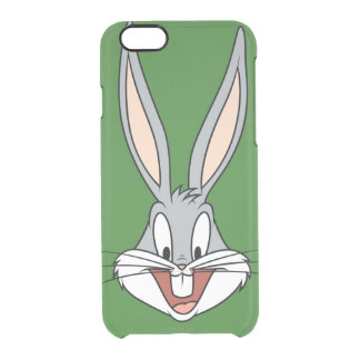 BUGS BUNNY™ Smiling Face Clear iPhone 6/6S Case