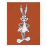 Bugs Bunny Standing Print