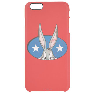 BUGS BUNNY™ Stars Badge Clear iPhone 6 Plus Case