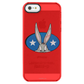 BUGS BUNNY™ Stars Badge Clear iPhone SE/5/5s Case