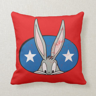 BUGS BUNNY™ Stars Badge Cushion