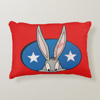 BUGS BUNNY™ Stars Badge Decorative Cushion