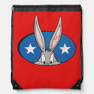 BUGS BUNNY™ Stars Badge Drawstring Bag