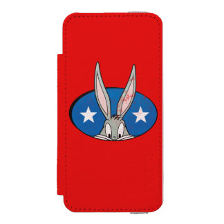 BUGS BUNNY™ Stars Badge Incipio Watson™ iPhone 5 Wallet Case