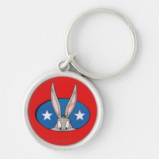 BUGS BUNNY™ Stars Badge Key Ring