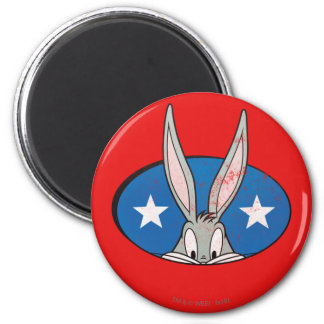 BUGS BUNNY™ Stars Badge Magnet