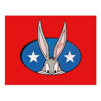 BUGS BUNNY™ Stars Badge Postcard