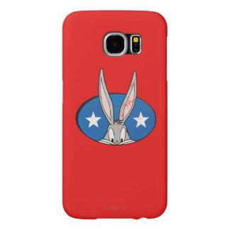 BUGS BUNNY™ Stars Badge Samsung Galaxy S6 Cases