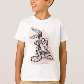 BUGS BUNNY™ Thinker Light Pink T-Shirt