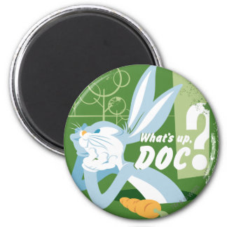 BUGS BUNNY™ What's Up, Doc? 6 Cm Round Magnet