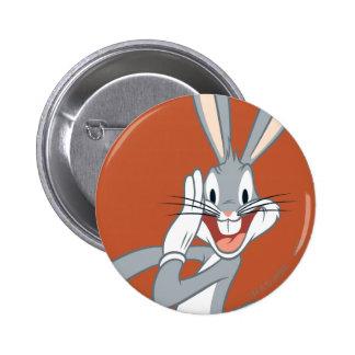 BUGS BUNNY™ Whispering 2 6 Cm Round Badge