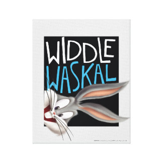 BUGS BUNNY™- Widdle Waskal Canvas Print