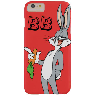 BUGS BUNNY™ With Carrot Barely There iPhone 6 Plus Case