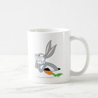 BUGS BUNNY™ with Carrot Basic White Mug