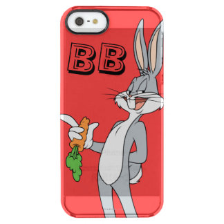 BUGS BUNNY™ With Carrot Clear iPhone SE/5/5s Case